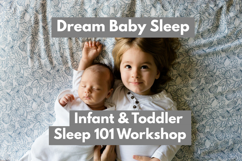 0859dca26 Come learn from the Founder and Certified Sleep expert, Carolynne Harvey of  Dream Baby Sleep® at her sought after Sleep 101 Workshop.
